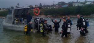 Sydney Boat Diving