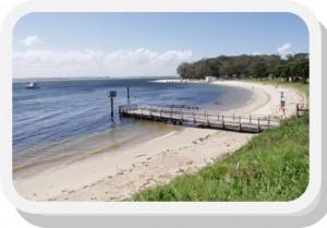 Nelson's Bay Beach
