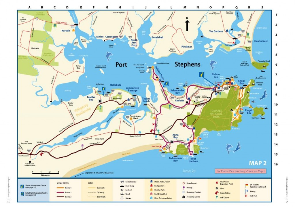 Port Stephens Map
